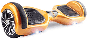 WorryFree Gadgets Gold Hoverboard