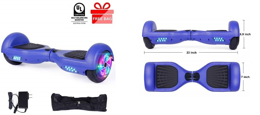 EPCTEK 6.5 inch Hoverboard for Kids
