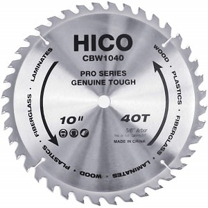 HICO 10-Inch 40-Tooth ATB