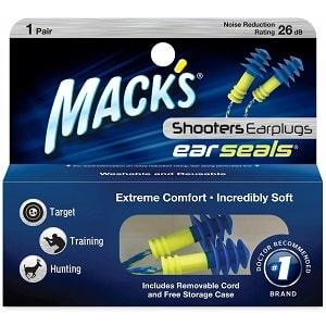 Mack's Shooters Ear Seals