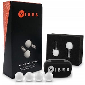 Vibes High Fidelity Concert Earplugs
