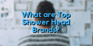 What are Top Shower Head Brands?